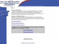 Nysacpr.org - New York State Association for Cardiac and Pulmonary Rehabilitation – An affiliate of the American Association  of cardiovascular and Pulmonary rehabilitation