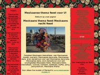 Mexicaanse thema feest mexicaans mexico