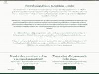 Kasteel Huize Harmelen - Inspirerende vergaderlocatie - Welkom bij vergaderlocatie Kasteel Huize Harmelen