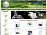 Mygolfballs.eu - Sports and Sparks bvba