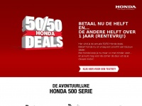 Honda50-50deals.nl - Honda 50/50 Deals