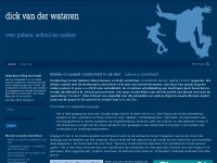 Dick van der Wateren | over pedagogiek en onderwijs
