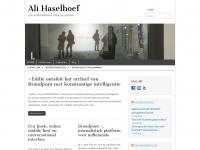 Ali Haselhoef – Conceptontwikkelaar online journalistiek