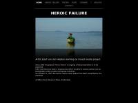 Jozefvanderheijden.nl - HEROIC FAILURE