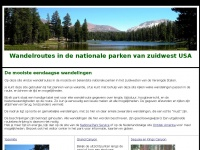 Wandelroutes Nationale Parken West USA