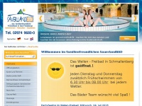 Sauerland-bad.de - SauerlandBAD - Das familienfreundliche Freizeitbad in Bad Fredeburg