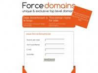 forcedomains.be