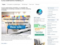 Cursuszoekmachinemarketing.nl - Cursus Zoekmachine Marketing | Cursus Zoekmachine Marketing