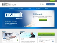 HIMSS Europe | Welcome to the HIMSS Europe website, where we transform healthcare through information and technology, together.