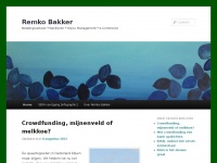 Remko Bakker - Betalingsverkeer * Bankieren * Risk Management * e-commerceRemko Bakker | Betalingsverkeer * Bankieren * Risk Management * e-commerce