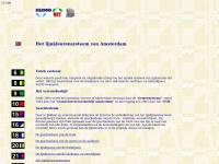 Het lijnkleurensysteem van Amsterdam