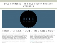 Bold Commerce | Magento 2 webshops in Amsterdam