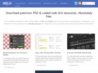 Pixelb.in - PixelBin - Download premium PSD & coded web GUI resources. Free.