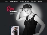 Eva-kumant.com - Eva Kumant - Musik & Show / Entertainerin - Lady on the Piano !