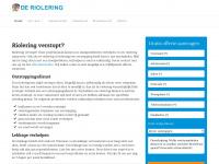 De-riolering.nl - Riolering ontstoppen