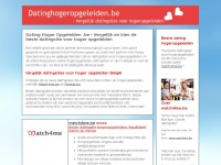 datinghogeropgeleiden.be